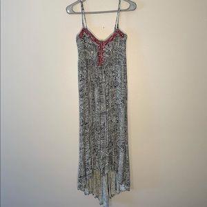 Billabong dress with hollister cardigan